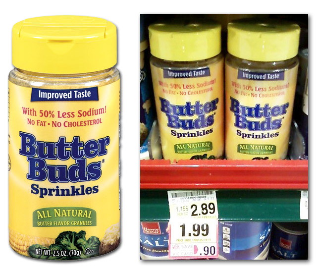 butter buds coupon