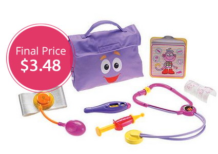 Gone: Dora the Explorer Check-Up Kit, Only $3.48–Hurry!