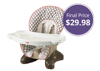 Fisher-Price SpaceSaver High Chair, Only $29.98!