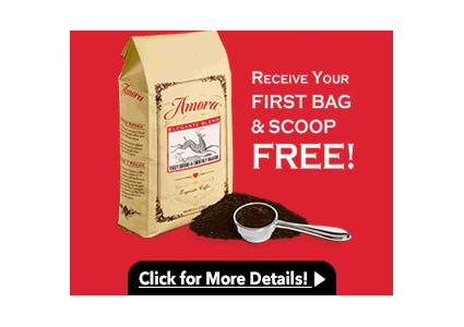 Free Hand-Roasted Coffee–Shipping Is Only $1!
