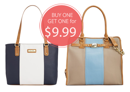 Macy's Handbag Sale–Buy One, Get Second for Only $9.99!