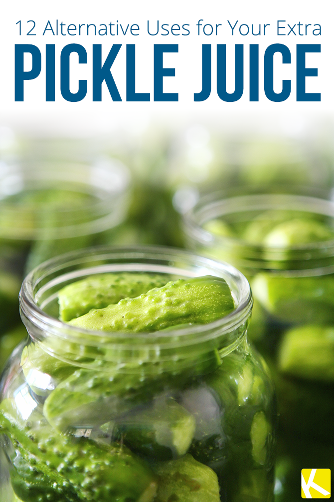 12 Alternative Uses for Your Extra Pickle Juice