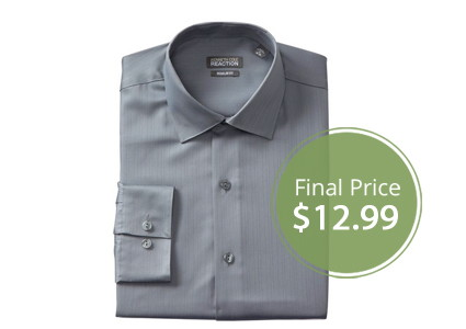 Men's Kenneth Cole Dress Shirts, Only $12.99!