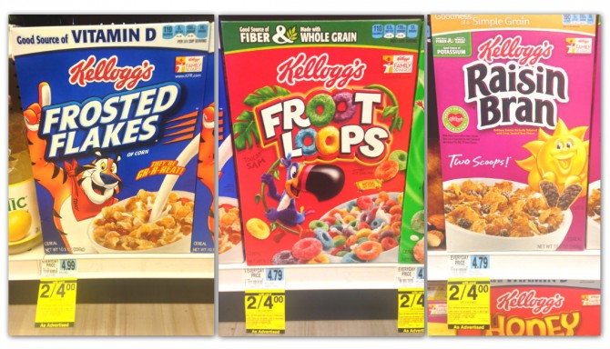 Cereal Sale Rite Aid Coupon