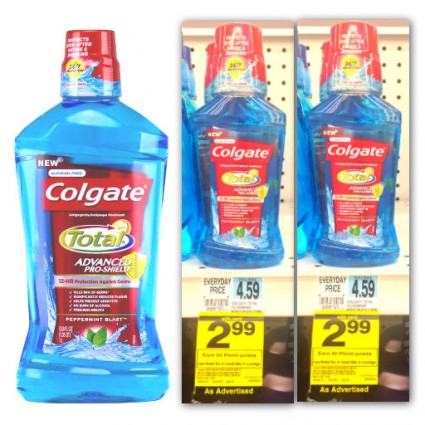 Colgate Total Mouthwash Coupon