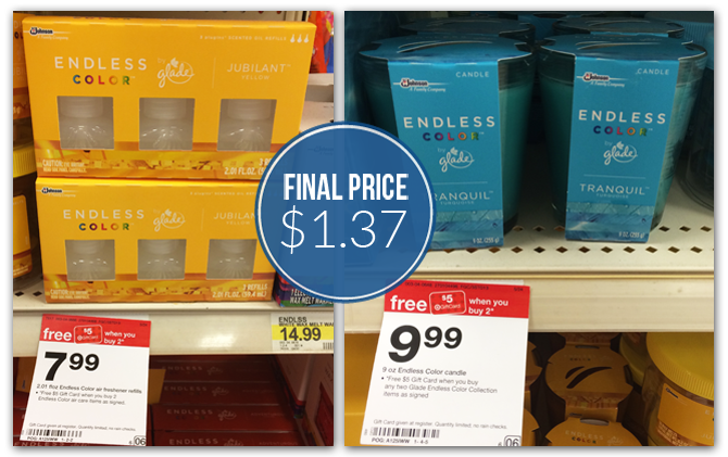 Endless Color by Glade Target