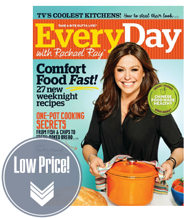 Every Day With Rachael Ray Magazine, Just $0.50 per Issue!