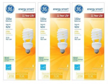 GE CFL Light Bulbs Coupon