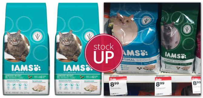 Iams Cat Food Target