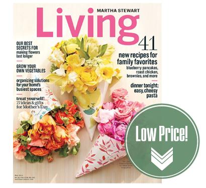 Martha Stewart Living Magazine, Just $1.00 per Issue!