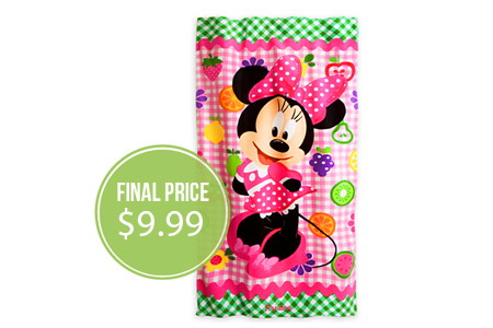 HOT! Free Shipping at The Disney Store–Towels, Under $10!