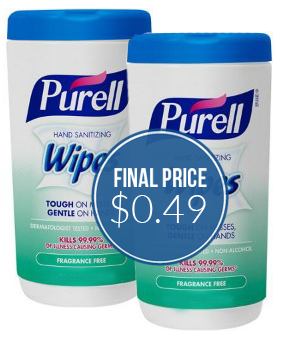 PUrell Wipes Target