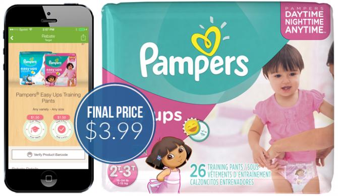 Pampers Easy Ups Target
