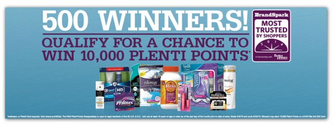 Rite Aid Plenti Points Sweepstakes Coupon