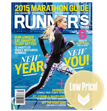Runner's World Magazine, Just $0.54 per Issue!