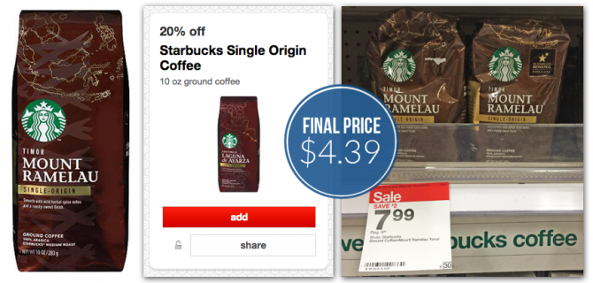 Starbucks Single Origin Target