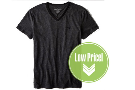 American Eagle: Extra 50% Off–Men's T-Shirts, Only $6 Shipped!
