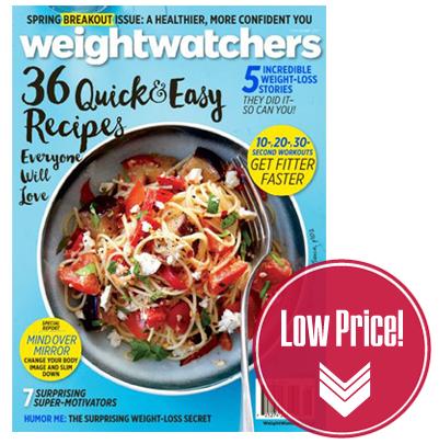 Weight Watchers Magazine, Just $0.83 per Issue!