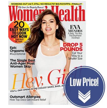 Women's Health Magazine, Just $0.50 per Issue!