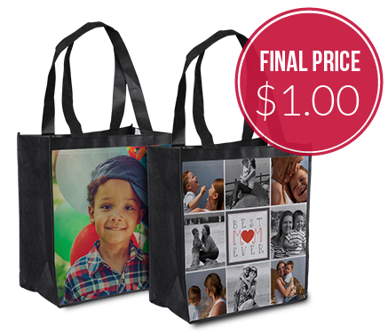 Personalized Grocery Tote–Just $1.00!