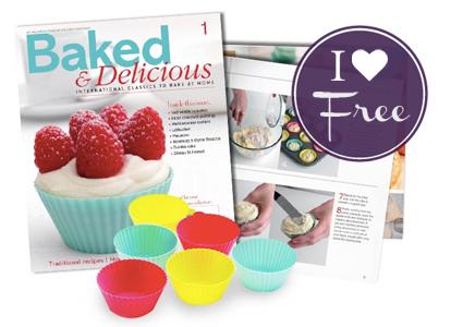 Free Baking Magazine & Bakeware, Just Pay to Ship!