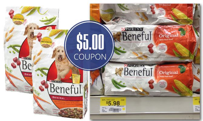 Beneful dog food printable coupons 2018