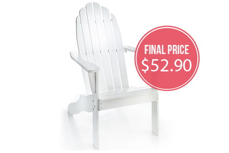 HOT! Adirondak Chairs, as Low as $52.90–Normally $239.99!