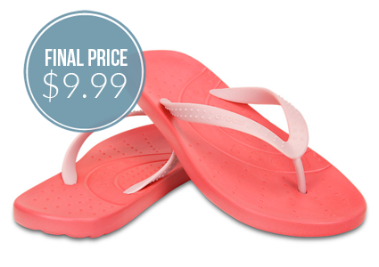 Ends Today–Save 50% on Crocs Chawaii Flips!