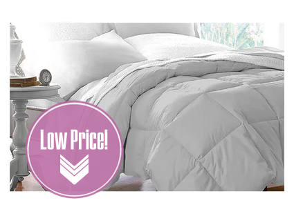 Club Le Med Down-Alternative Comforter, Only $31 Shipped!