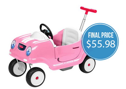 Radio Flyer Coupe Ride-On, Only $55.98–Low Price!