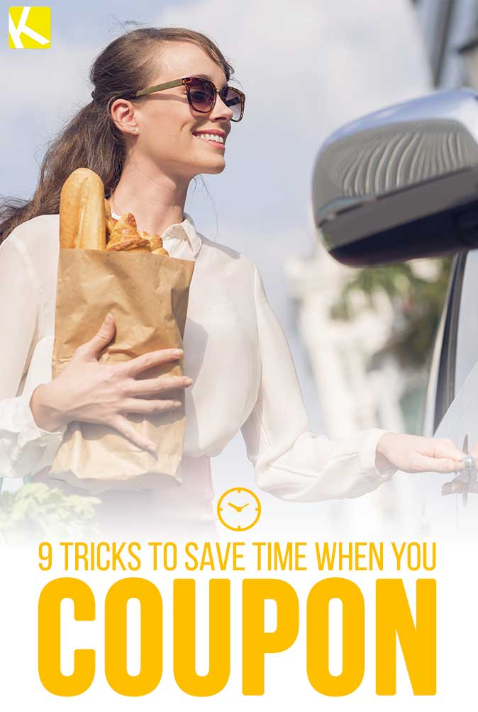 9 Tricks to Save Time When You Coupon