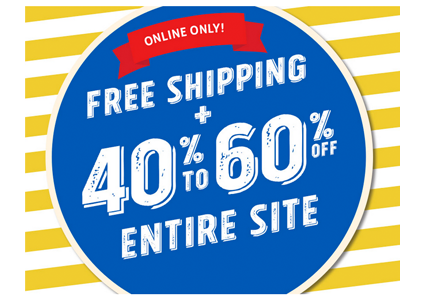 The Children's Place–Save 40-60% Sitewide + Free Shipping!