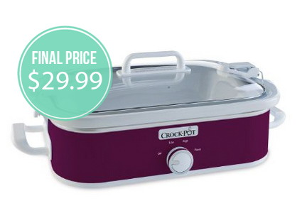 Crock-Pot Casserole Slow Cooker, Only $29.99!