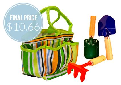 JustForKids Garden Tool Set, as Low as $10.66 Shipped!