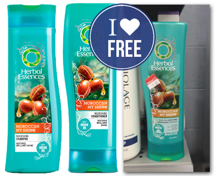 Free herbal essences shampoo or conditioner at walmart