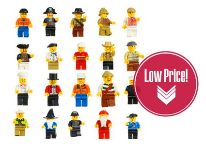 HOT! LEGO-Inspired Minifigures, as Low as $0.40 each!
