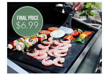 2-Pack BBQ Grill Mats, Only $6.99 Shipped!