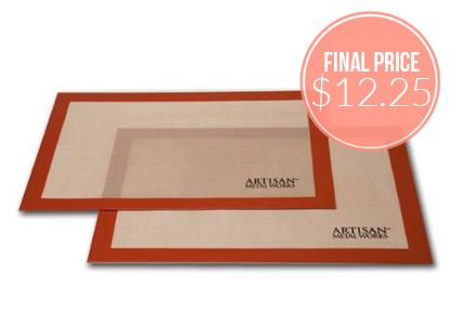 2-Pack Artisan Baking Mats, as Low as $12.25 Shipped!