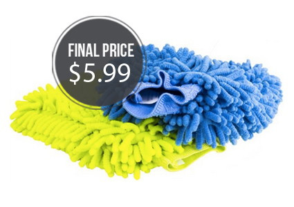 Zwipes Microfiber Mitts: Two-Pack, Only $5.99!