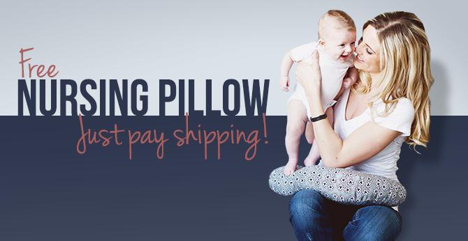 New Code! Free Patterned Nursing Pillow!