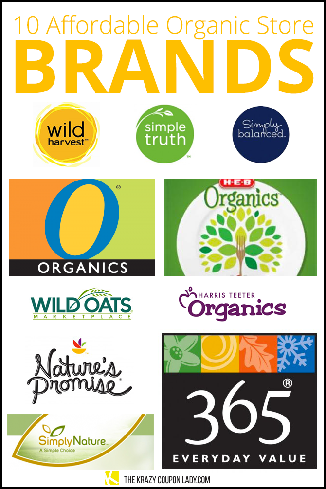 10 Affordable Organic Store Brands