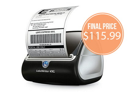DYMO Label Printer & Labels, Up to 74% Off–Today Only!