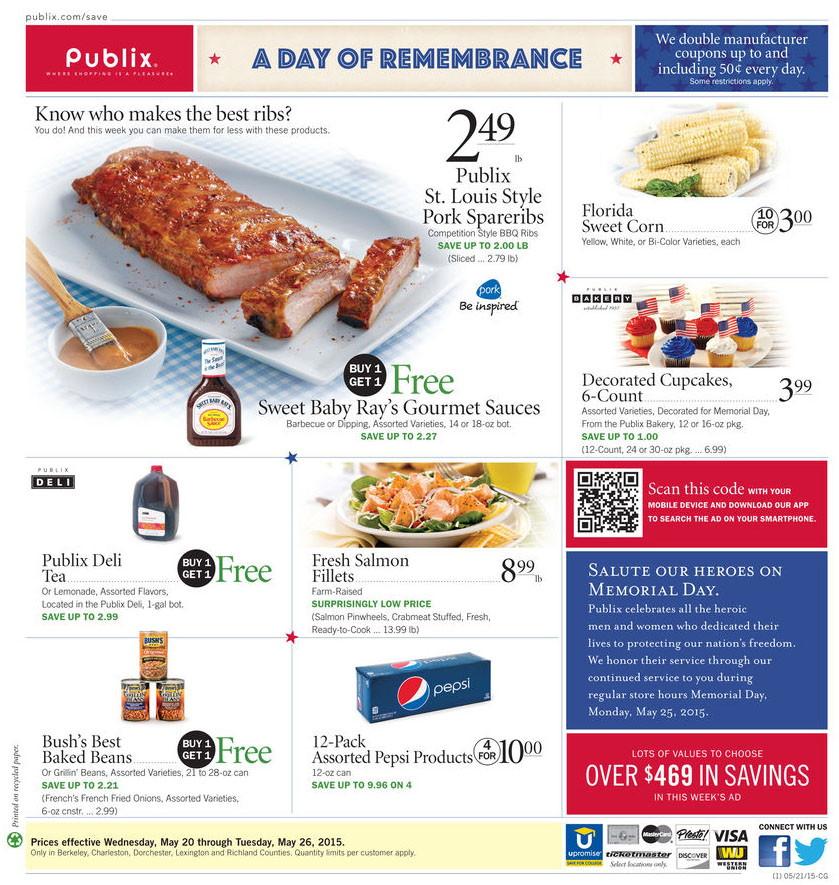 Publix phone coupons