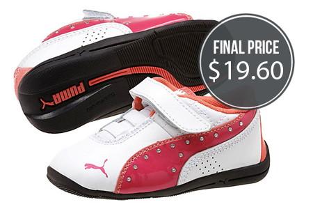 PUMA: Extra 30% Off–Kids' Shoes, Under $20!