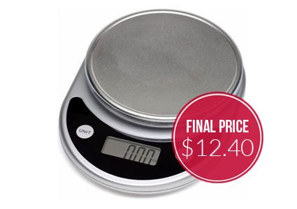 Mosiso Digital Food Scale, as Low as $12.40 Shipped!
