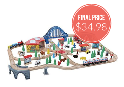 Train Set, Only $34.98–Normally $99.99!