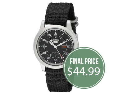 Men's Seiko Watches, Only $44.99–Save 76%!