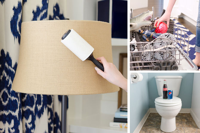 15 brilliant household cleaning hacks for Household hacks