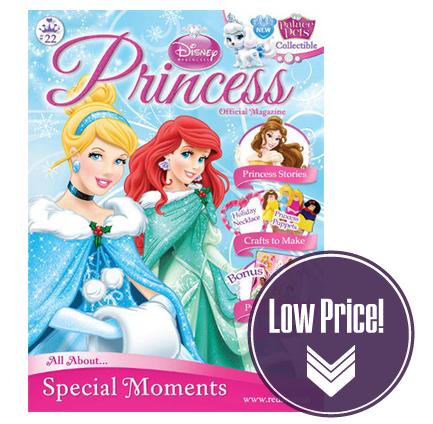 Save 64% on a Year of Disney Princess Magazine!