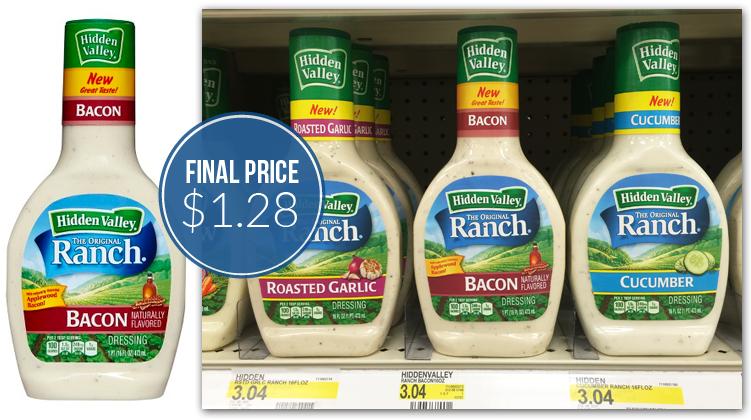 HIdden Valley Flavored Ranch Target